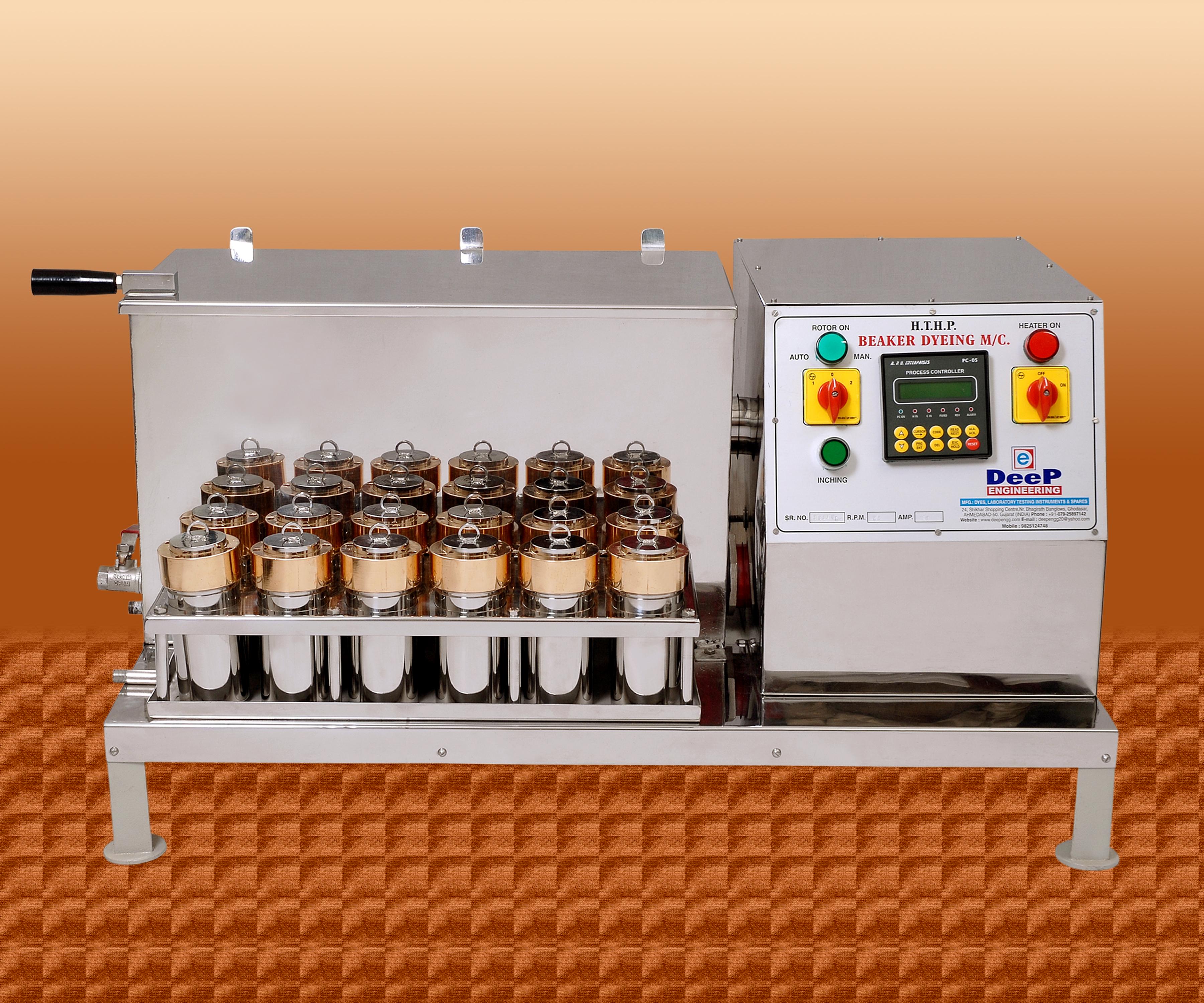 HTHP Beaker Dyeing Machine India