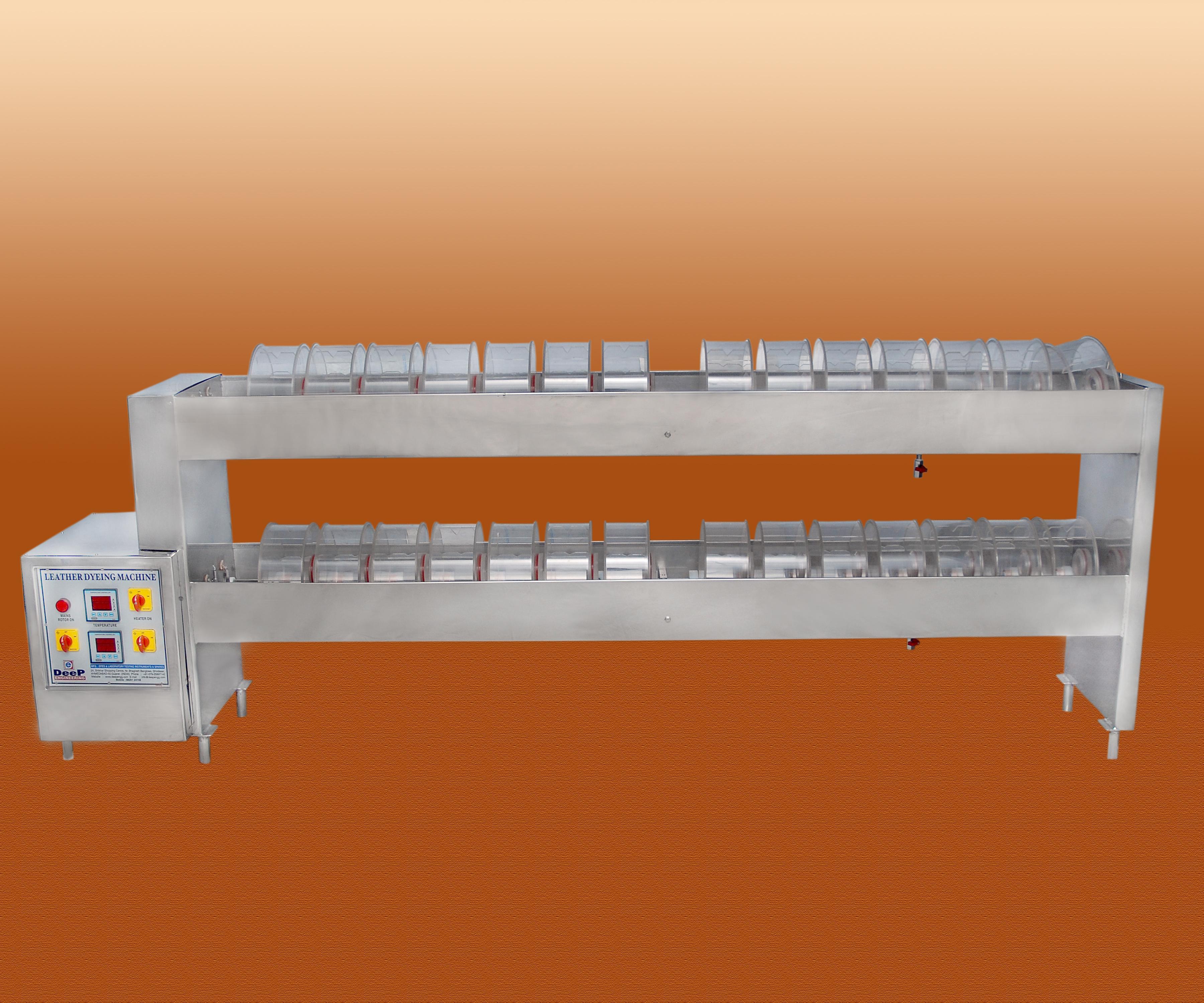 Leather Dyeing Machine in Gujarat