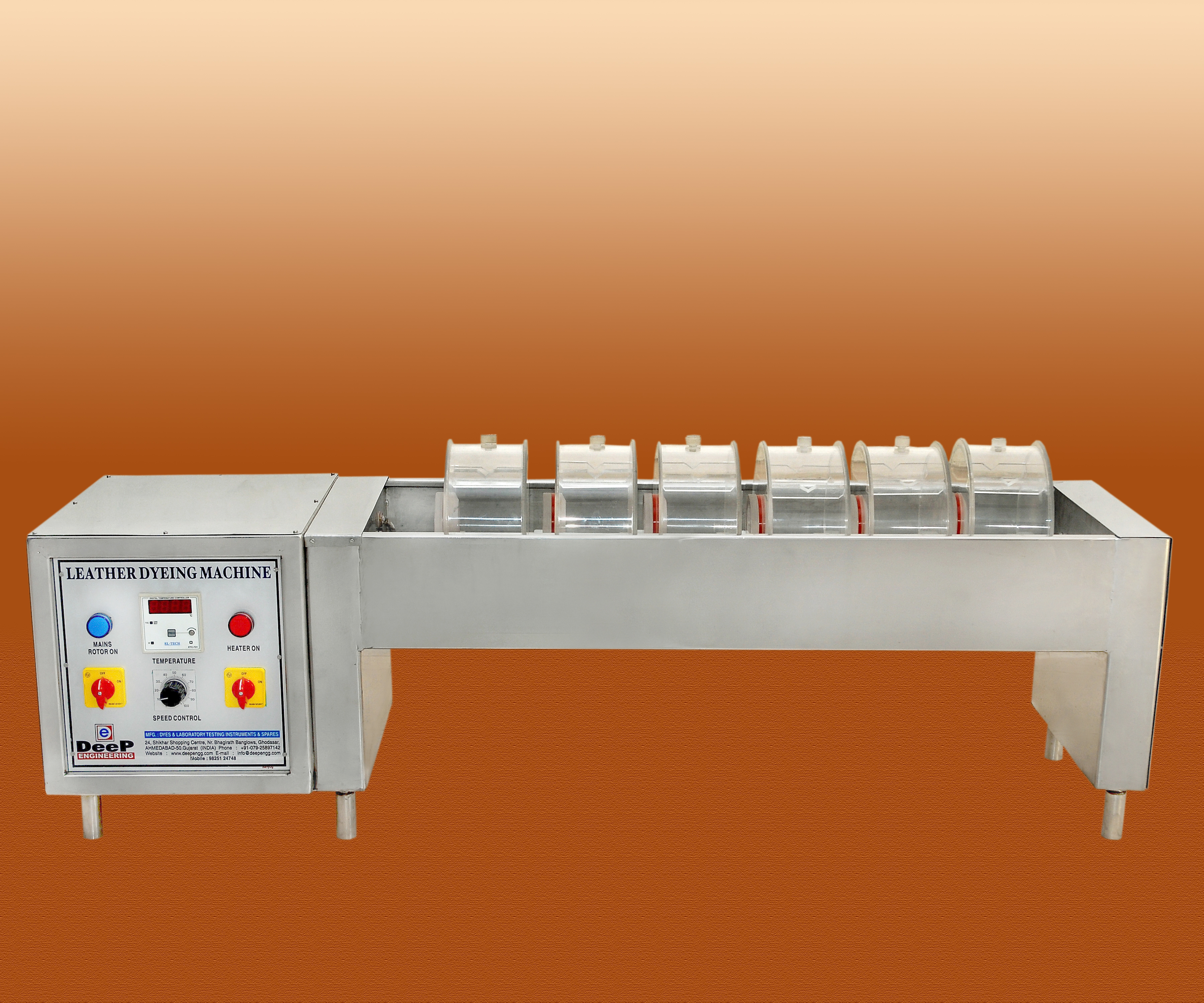 Leather Dyeing Machine Exporter