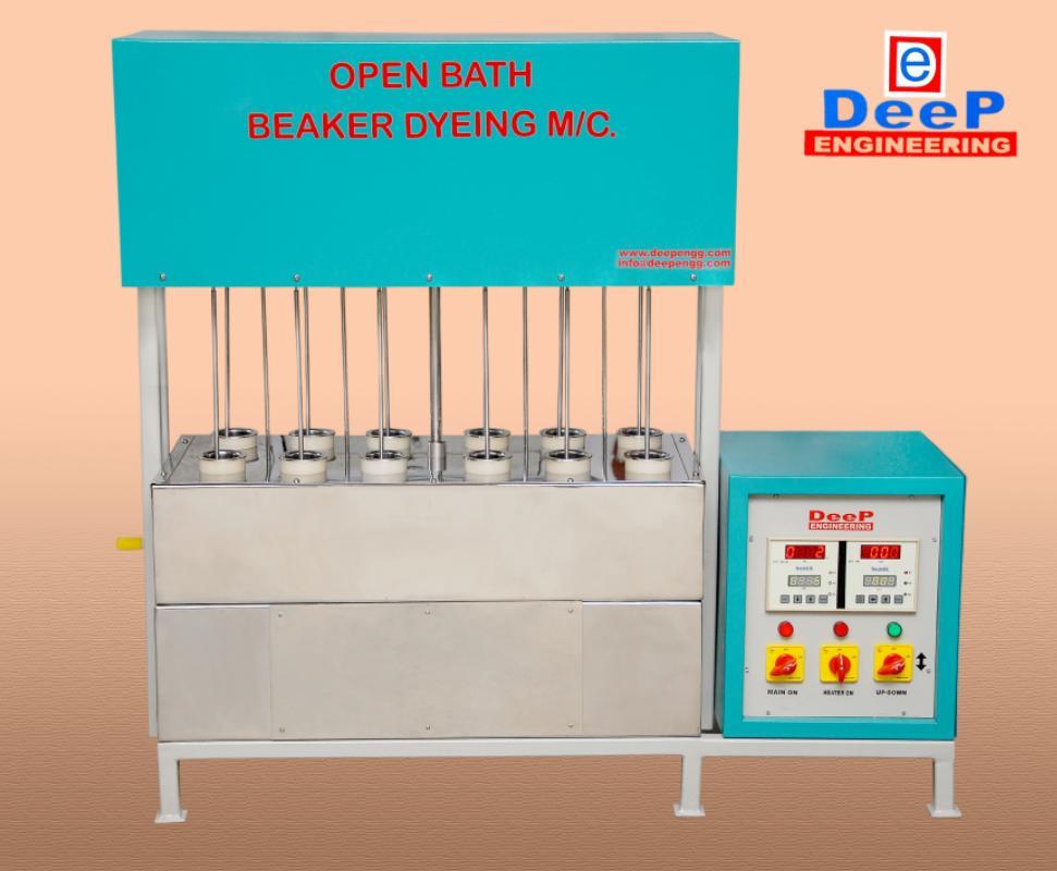 open bath beaker dyeing machine manufacturer in oman