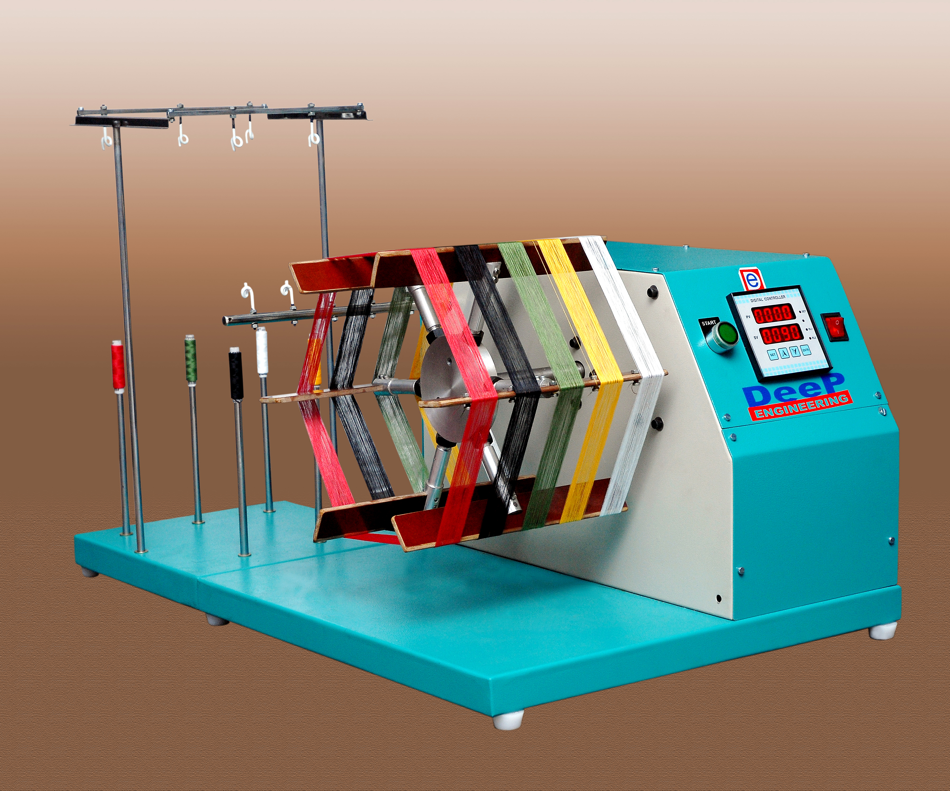 Wrap Reel-Cotton Fabric Dyeing Machine for Laboratory Manufacturer & Supplier in Gujarat